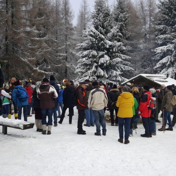 Zahlreiche Besucher sind auf dem Großen Sohl eingetroffen