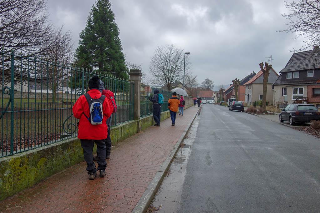 Gronauer Weg in Banteln
