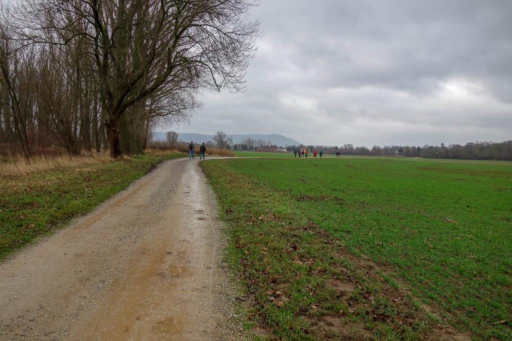 Wir wandern Richtung Gronau