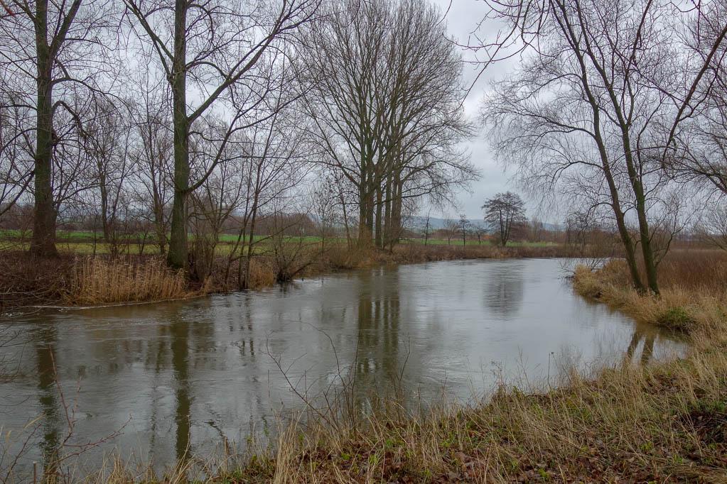 Die Leine zwischen Elze und Gronau