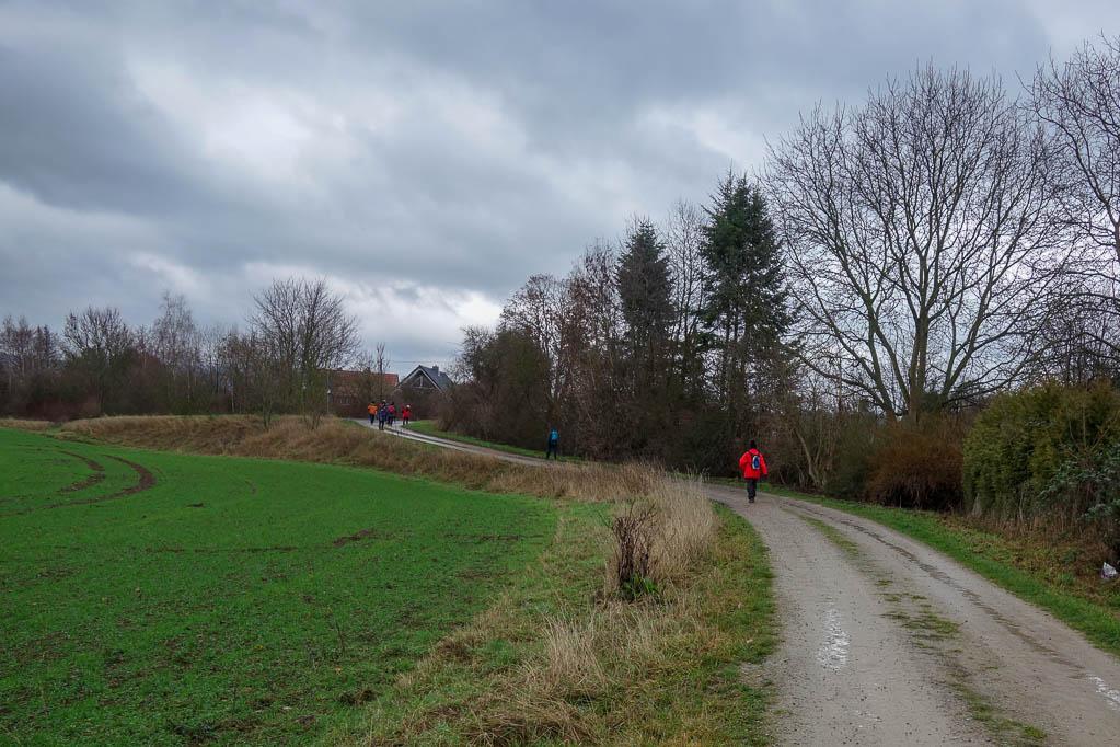 Feldweg kurz vor Gronau
