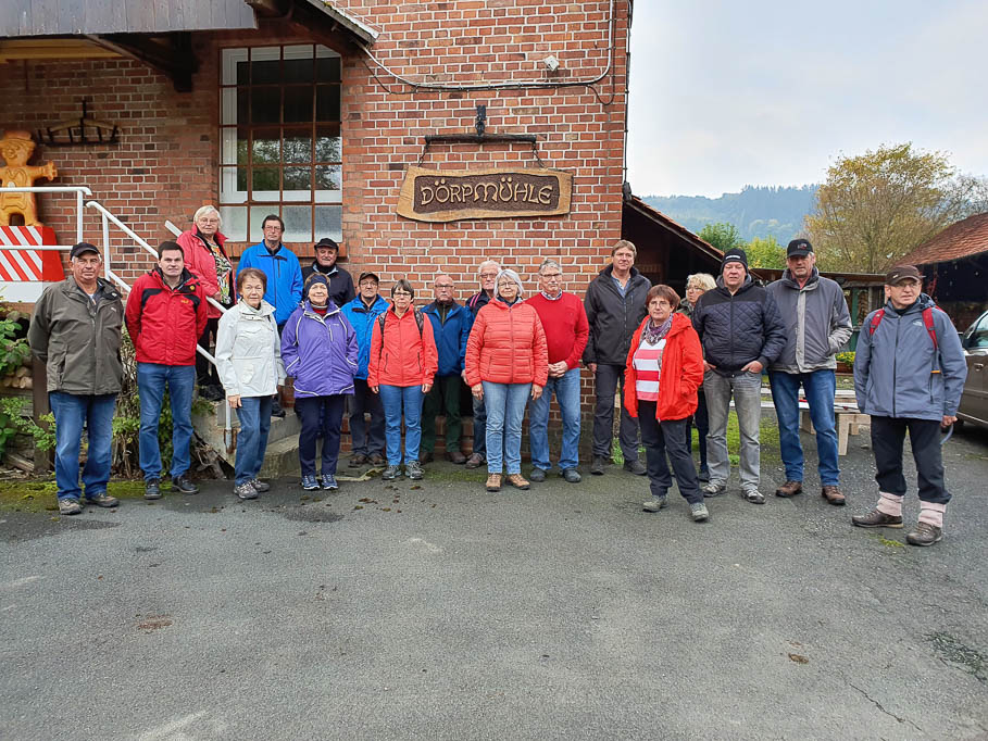 Die Teilnehmer der Pottland Wanderung