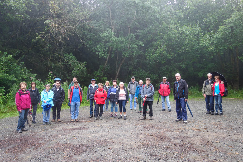 Die Wandergruppe vom Heimatverein Delligsen